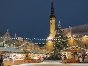 Эстония декабрь